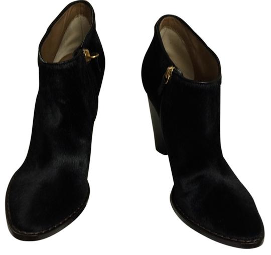 Dolce&Gabbana Suede Suede Dolce Gabbana Dolce Gabbana Pony Hair Black Boots Image 2