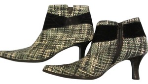Predictions black white slate tweed Boots