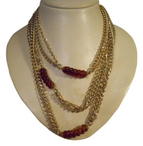 Sarah Coventry Vintage extra long double chain