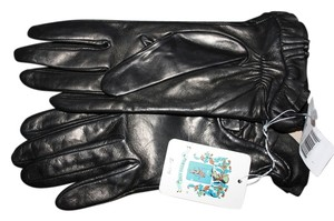 Portolano PORTLANO RUFFLED PREMIUM LEATHER GLOVES