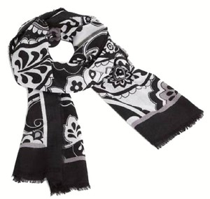 Vera Bradley NEW MIDNIGHT PAISLEY SOFT WOOL SCARF