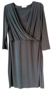 Calvin Klein short dress Graphite Grey Flattering Navy Grey 12 on Tradesy