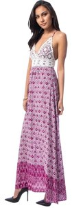 Magenta Maxi Dress by Embroidered Maxi