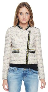 Juicy Couture Confetti Melange Tweed Cream Melange Blazer