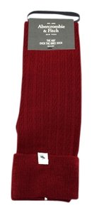 Abercrombie & Fitch Over the knee Mini Cable Boot Sock