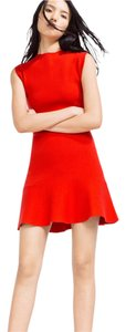 Zara short dress Red Fashion Style Stylish on Tradesy