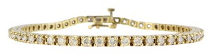Waxing Poetic 14Kt Diamond Tennis Bracelet