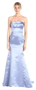 Adrianna Papell Adrianna Women's Strapless Satin Mermaid Gown Adrianna Mermaid Gown Gown Shi By Shika Blue Blue Long Red Carpet Dress