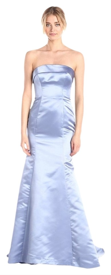 Adrianna Papell Pastel Women\'s Strapless Satin Mermaid Gown Long ...