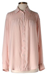 Elizabeth and James Pleated Top Pink