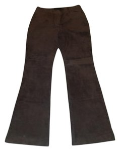 Moda International Boot Cut Pants Brown