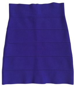 BCBGMAXAZRIA Power Pencil Skirt Purple