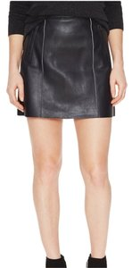 Vince Mini Skirt Black White