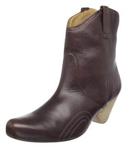 John Fluevog Dallas chocalate Boots