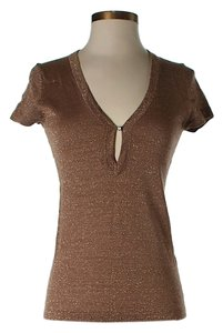 Trina Turk Wool Top Copper