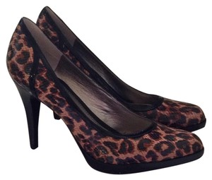 Bandolino Animal Print Black/Brown Pumps