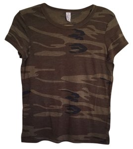 Alternative Apparel T Shirt Camo