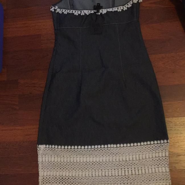 Anna Sui short dress Dark blue grey jeans with white on Tradesy Image 7