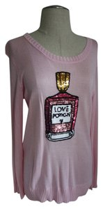 Other Sparkly Sparkle Sequence Perfume Bottle Shi By Shila Chic Boho Chic Classic Classy Shirt Sparkly Shirt Classic Sweater