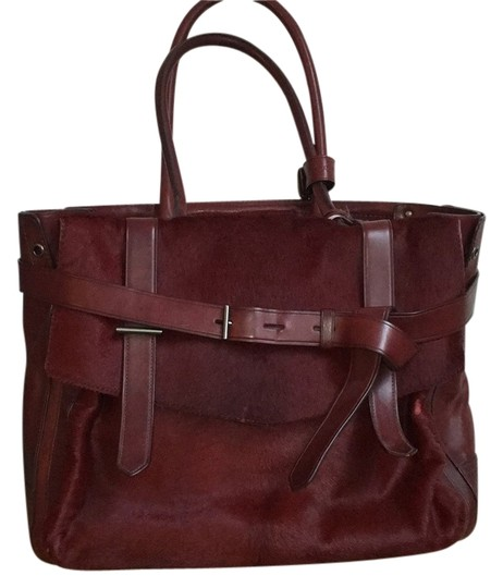 Preload https://img-static.tradesy.com/item/12347413/reed-krakoff-boxer-oxblood-calfhair-and-leather-tote-0-1-540-540.jpg