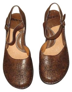 Børn Born Leather Bronze Brown Pumps