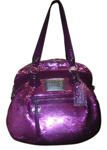 Coach Tote in PINK+PURPLE