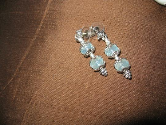 Tammy O. Blue Quartz Necklace, Bracelet and Earrings