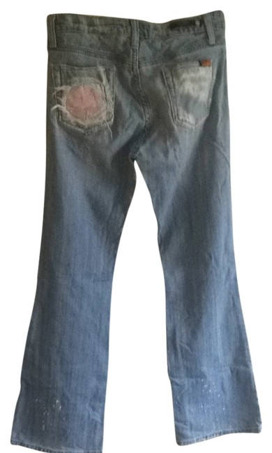 Vigoss Flare Leg Jeans-Distressed