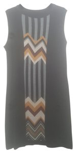 Missoni for Target short dress black/brown/grey on Tradesy