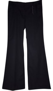Express Flare Pants Black with thin pin stripe