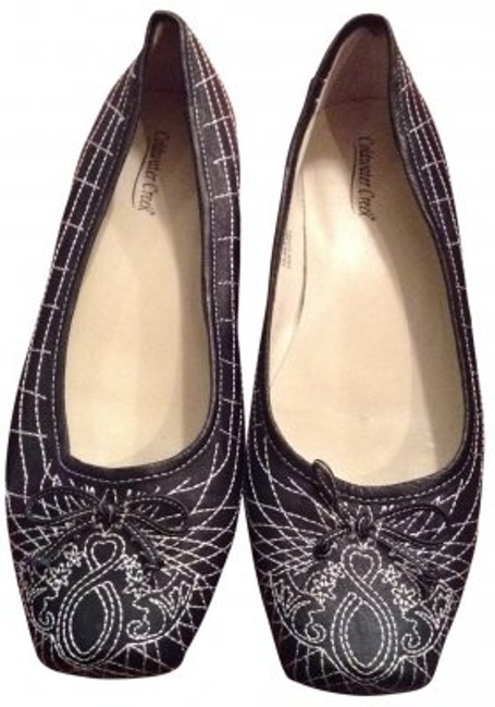 Item - Navy with White Stitching Tandy (429cc) Flats Size US 10
