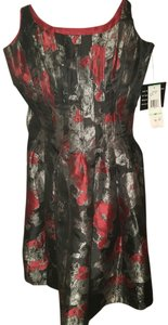 Jones New York Asian Scoop Back Sateen Dress