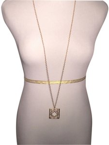 The Limited Brand new, gold-tone pendant necklace.