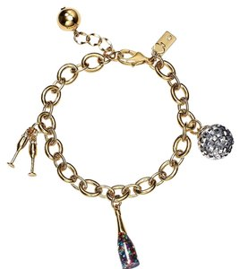 Kate Spade NWT KATE SPADE NEW YORK HOW CHARMING HOLIDAY CHARM BRACELET $98 W DUST BAG