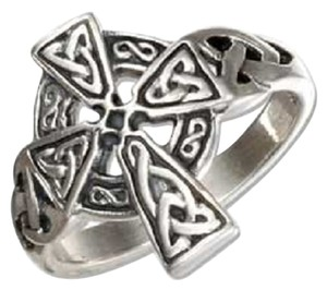 Other Sterling Silver Celtic Cross Ring