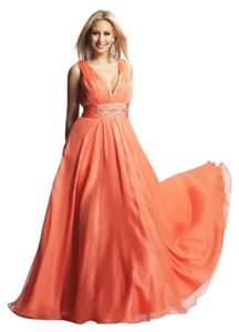 Dave & Johnny Plus Size Prom Gown Dress