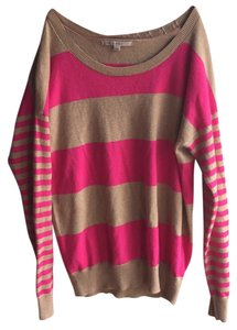 Gap Knit V-neck Striped Tunic