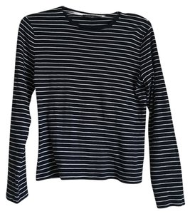 Ralph Lauren T Shirt Black/White Stripe