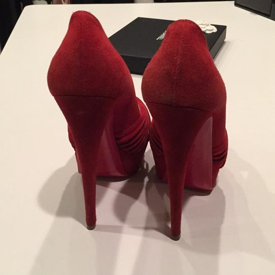 Christian Louboutin Red Platforms Image 3