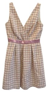 Modcloth short dress Pink and White on Tradesy