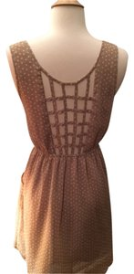 Other Dot Backless Woven Dress