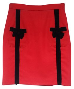 Maud Paris Skirt Red