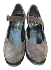 Robert Clergerie brown Platforms