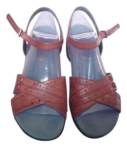 Hush Puppies Dark Red Sandals
