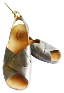 Kork-Ease Pewter Korks Wedge rose gold metallic Flats