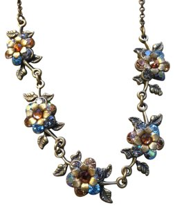 Michal Negrin Michal Negrin vintage style flower necklace