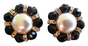 Other Vintage Glass Faux Pearl Earrings