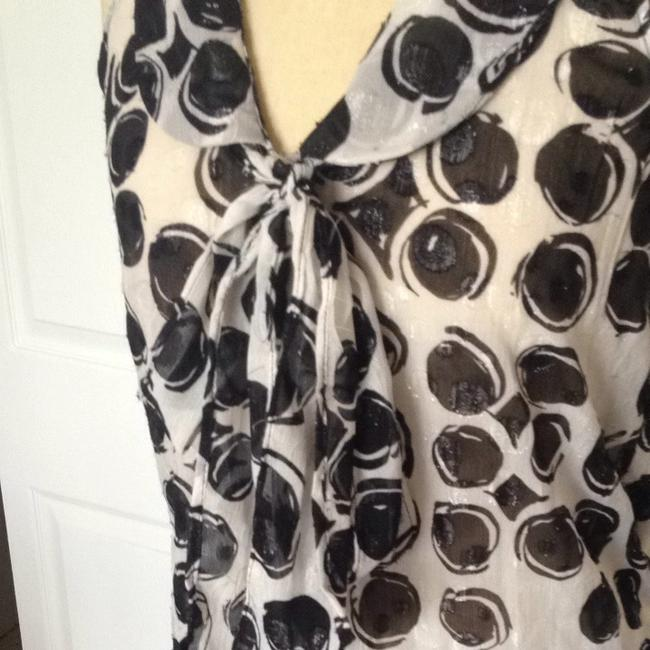 Kirna Zabete for Target Button Down Shirt Black And White