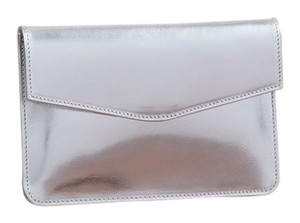 Vere Verto Convertible Hip Hippack City Urban Small Silver Clutch