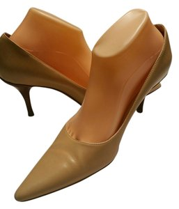 Faonnable Tan Pumps